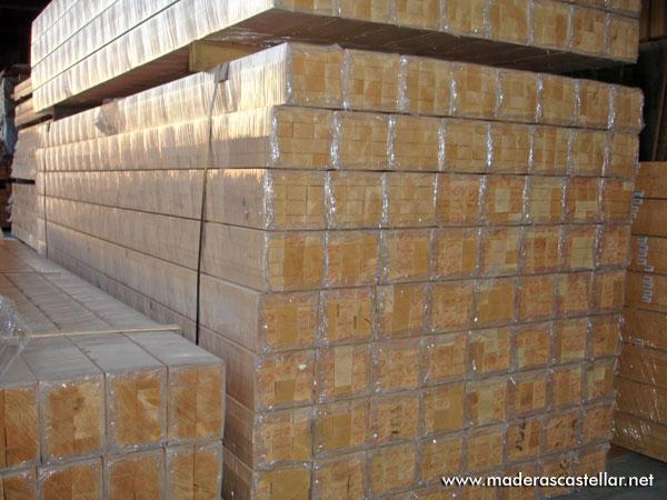 Listones de madera precio baratos liston de madera barato - Maderas de exterior ...