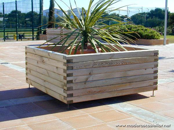 construccion con vigas de madera