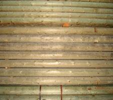 listones de madera exterior