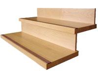 peldaos de madera para escalera