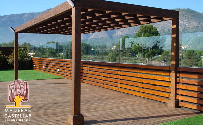 Venta de pergolas de madera precios maderas para pergolas - Pergolas de madera fotos ...