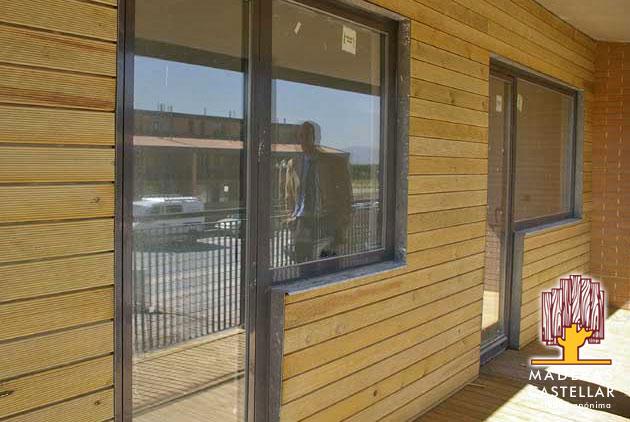 Tarima tratada autoclave tarimas de madera de exterior - Madera tratada para exterior ...