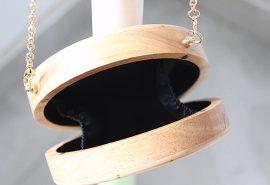 bolso de madera