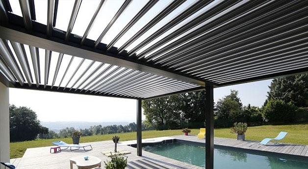 pergoal de aluminio bioclimatica